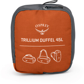 Osprey Trillium 45 Walizka pomarańczowy